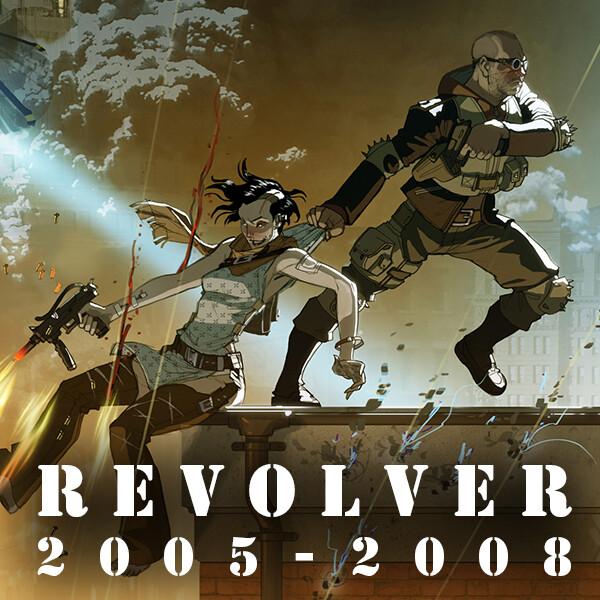 Revolver - Illustrations