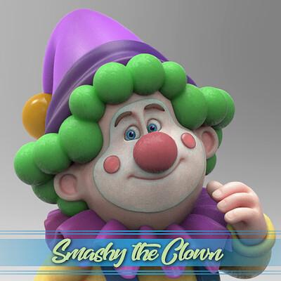 Tim turner 3d tim turner 3d smashy clown thumbnail