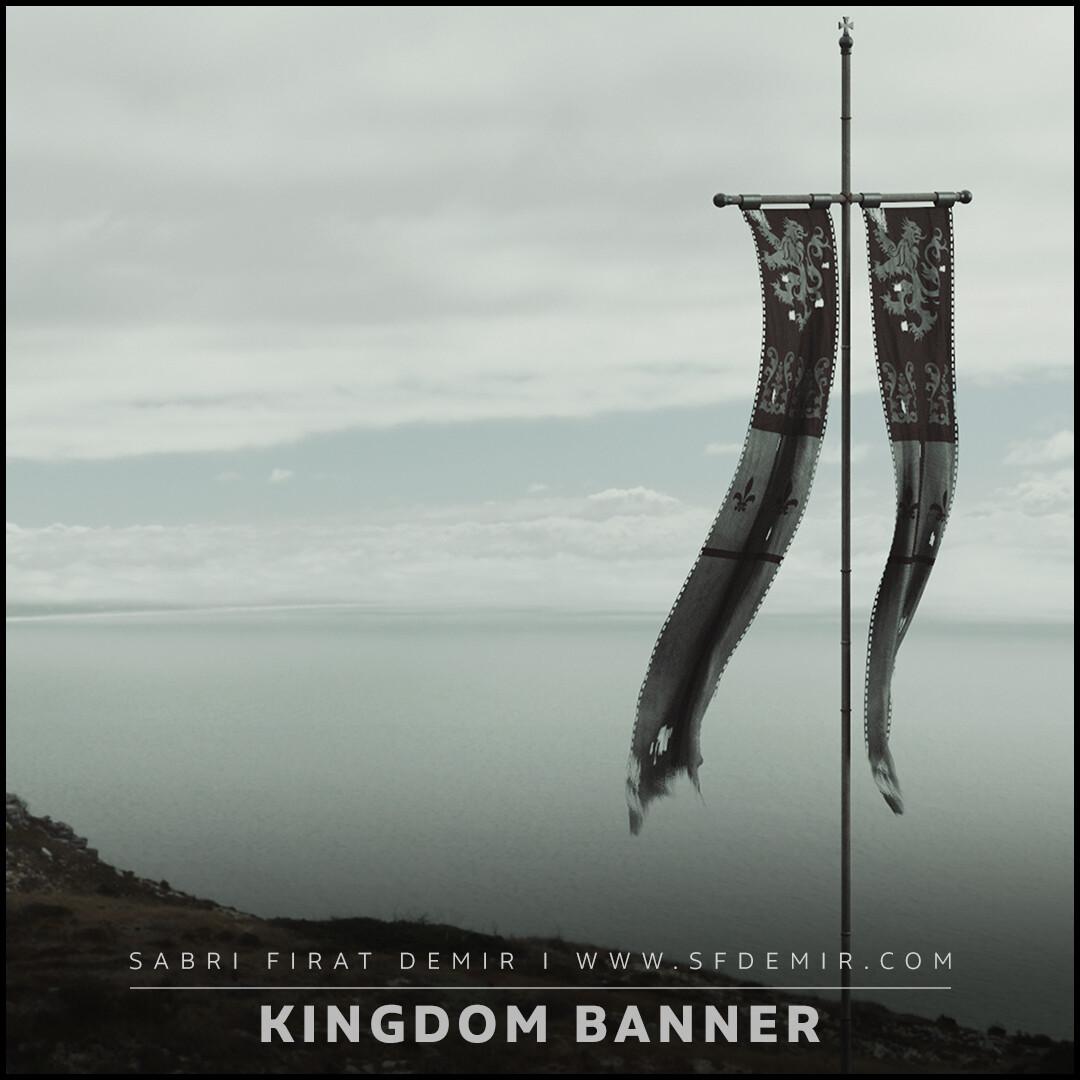 Kingdom Banner - Low Polygon PBR Texture