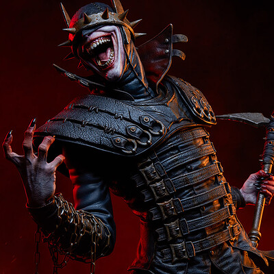 Batman Who Laughs (Sideshow Premium Format)