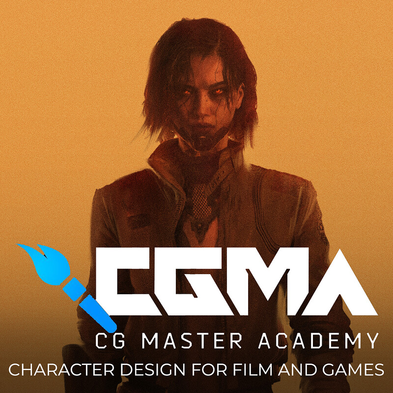 CGMA: Character Design for Film and Games Course