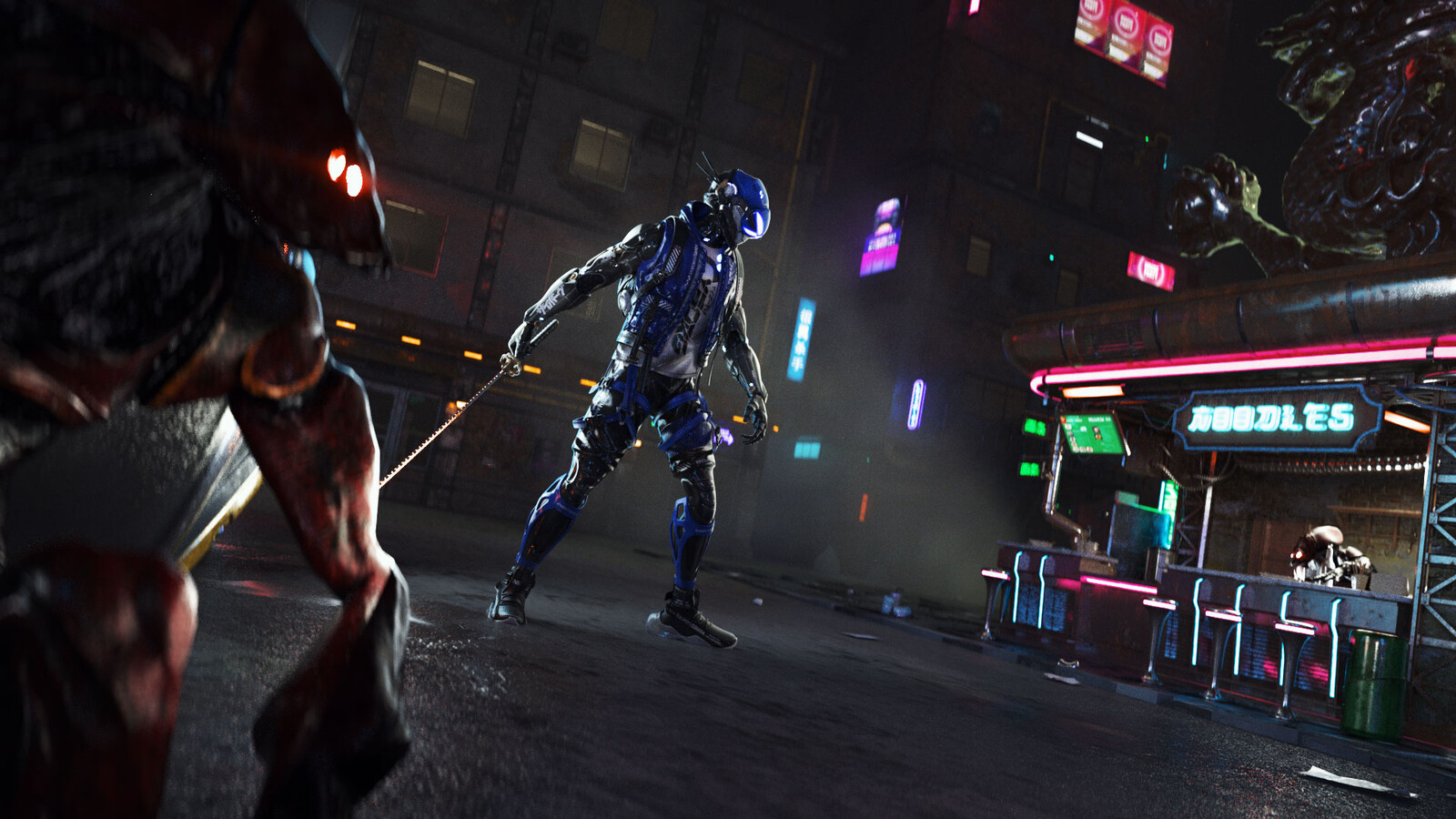 LCR-WK01// Cyberpunk City