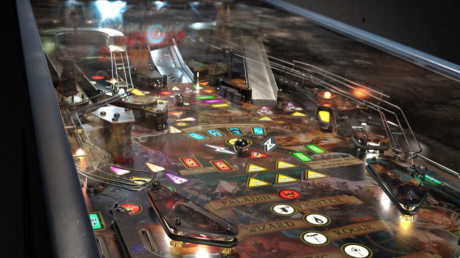 The Dungeons and Dragons Pinball Machine