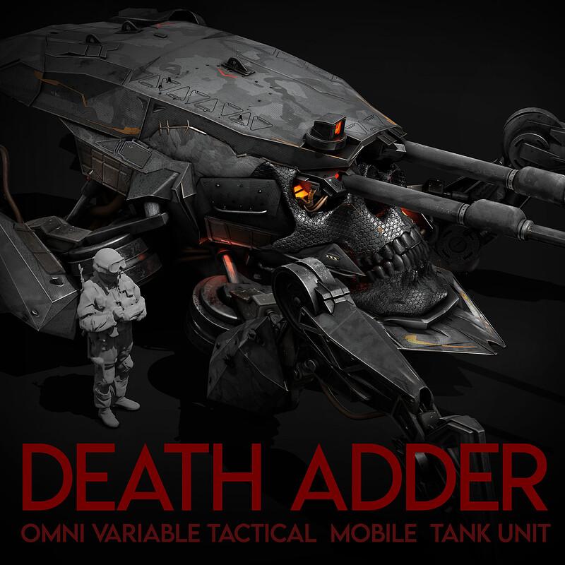 DEATH ADDER - Vehicle concept