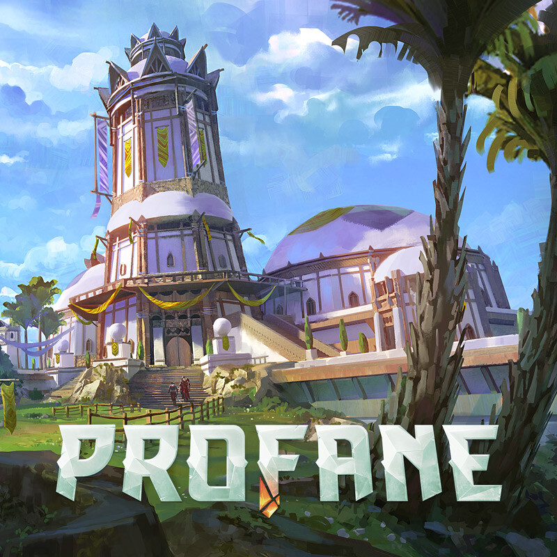 Townhall and towers - Profane