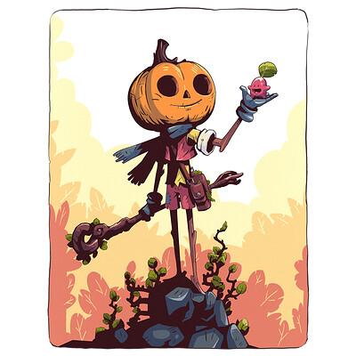 Pumpkin Mage