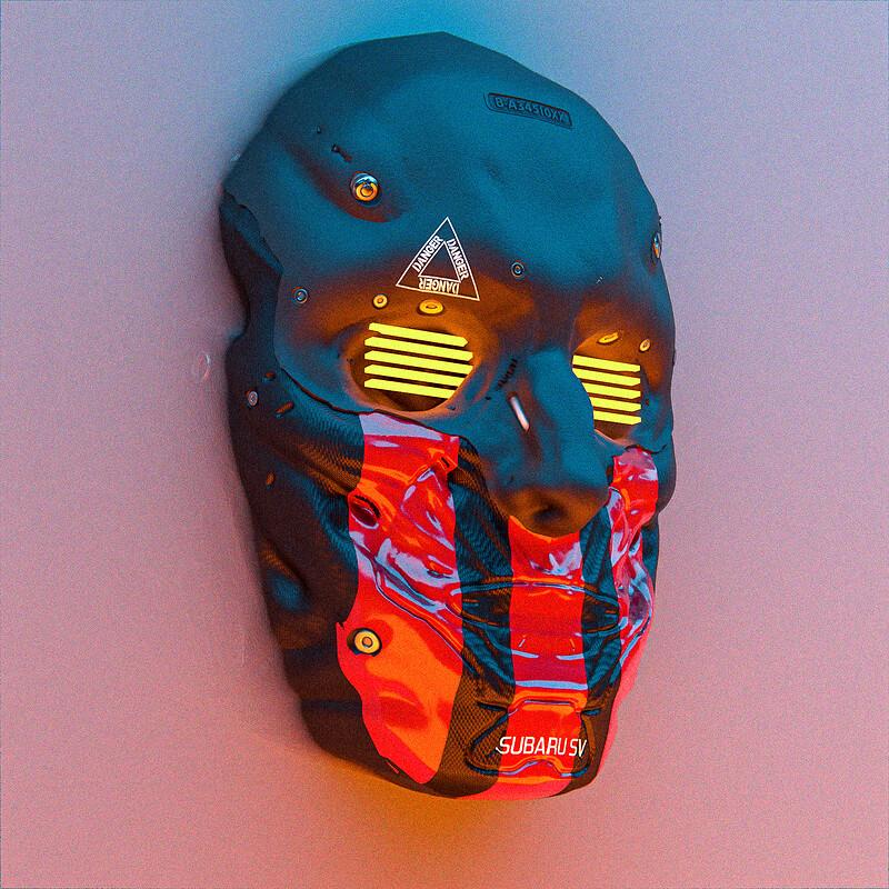 210126 - head sculpting practice