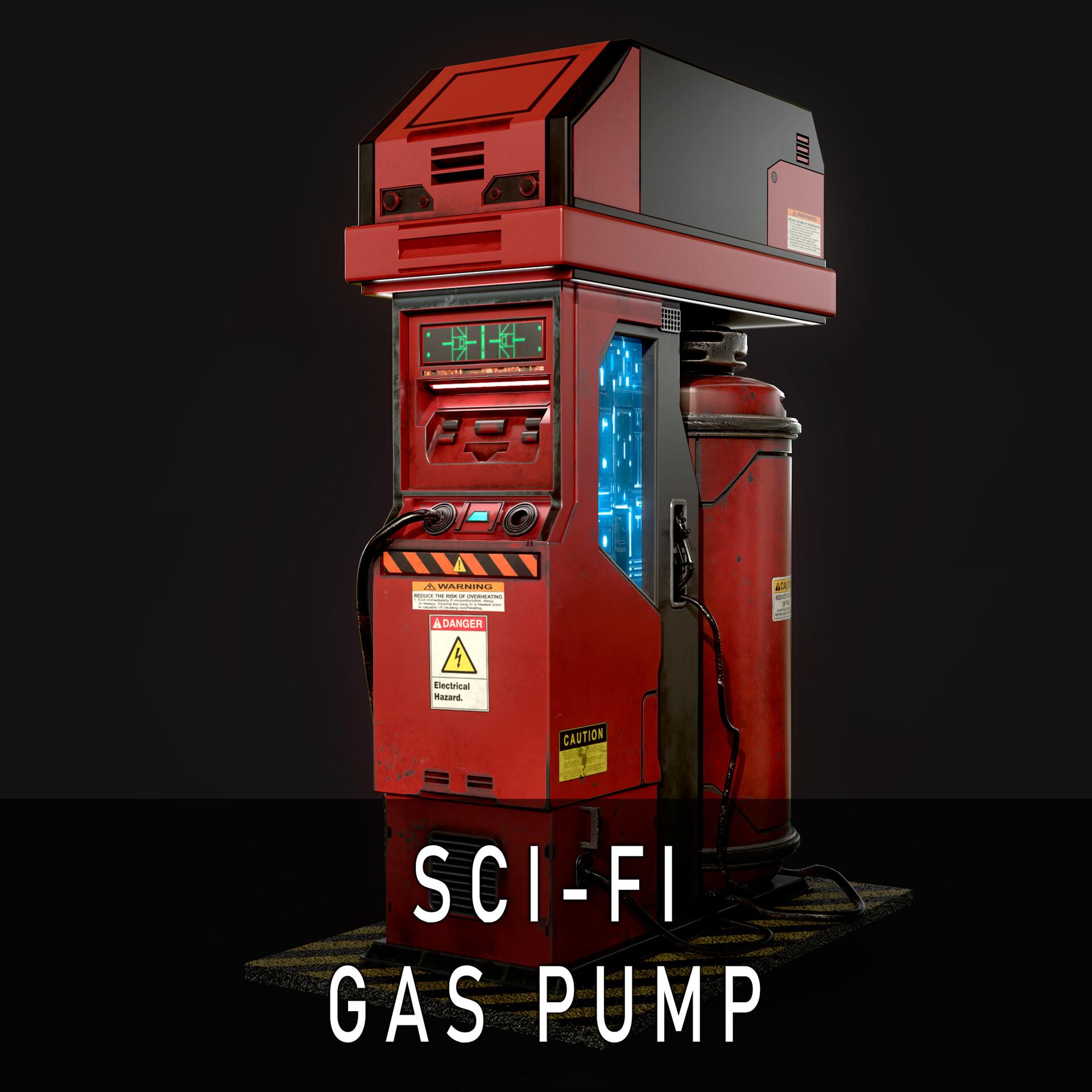 Sci-Fi Gas Pump