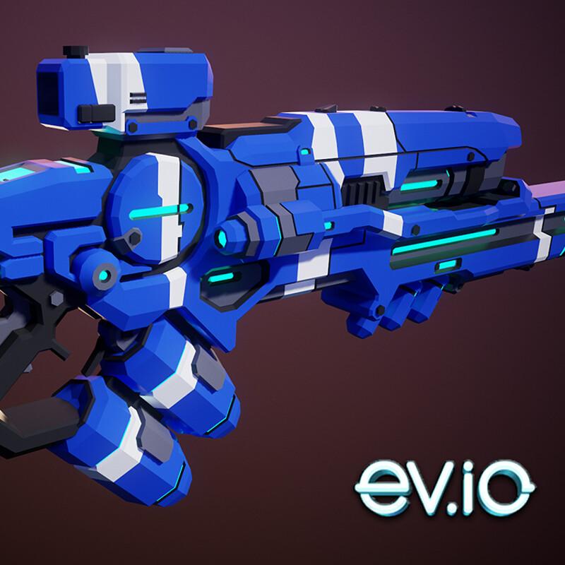 EV.io Laser Rifle Skin