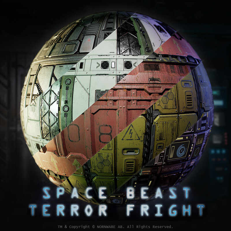 Space Beast Terror Fright - Materials
