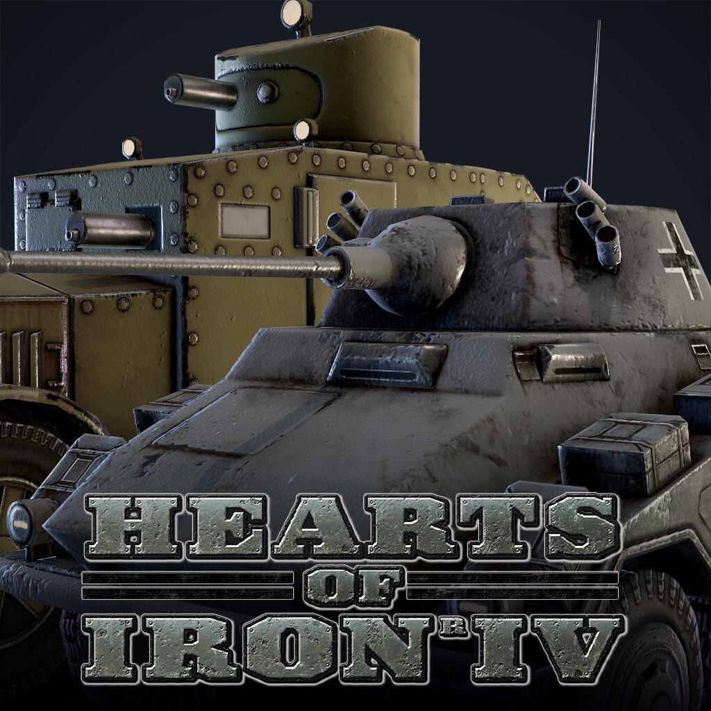 Hearts of Iron IV - Armoured Cars