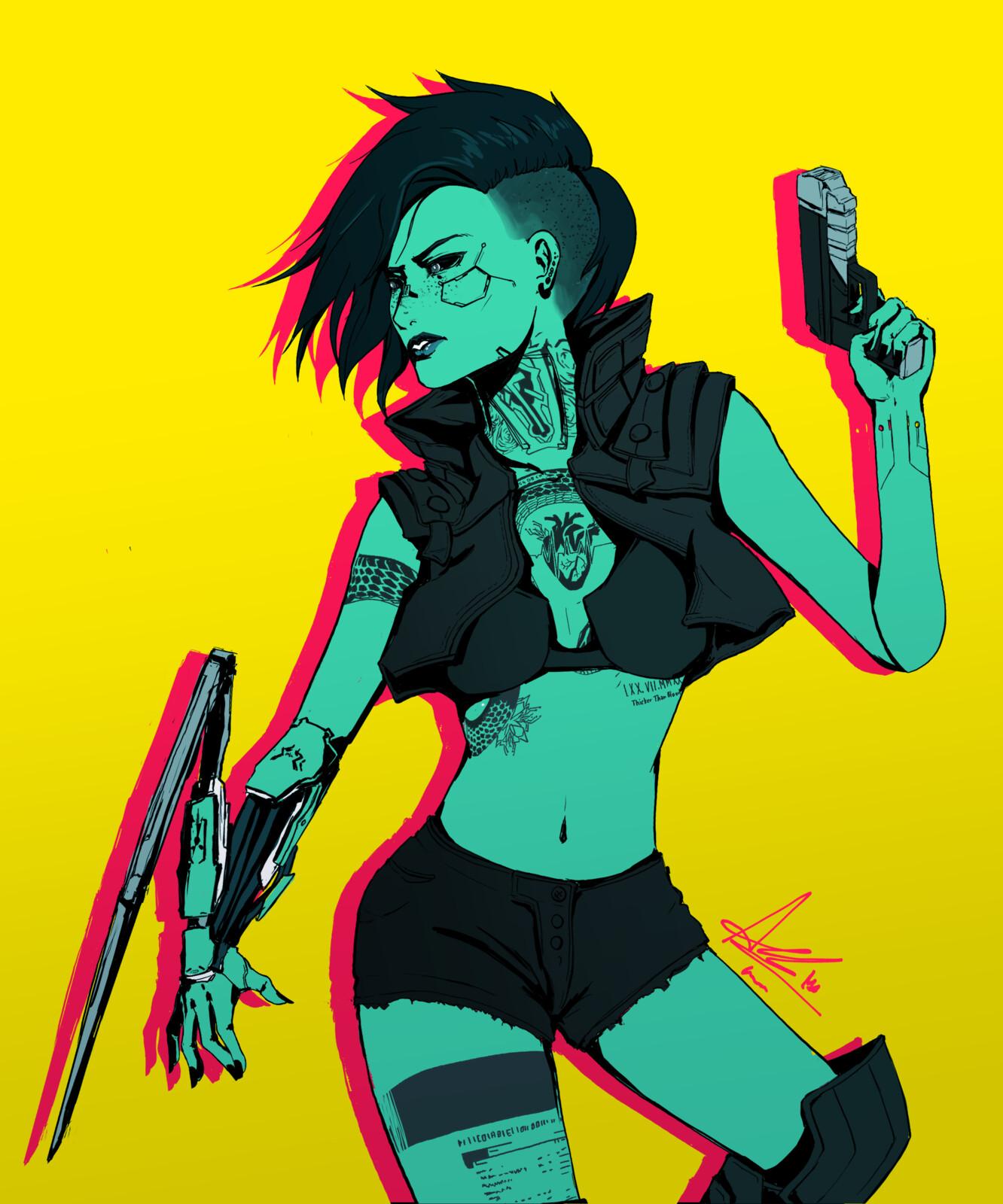 Cyberpunk - V