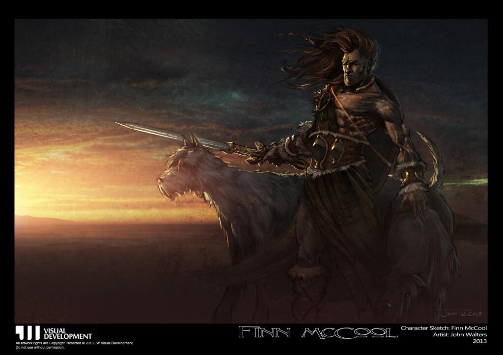 Finn McCool Character Concept