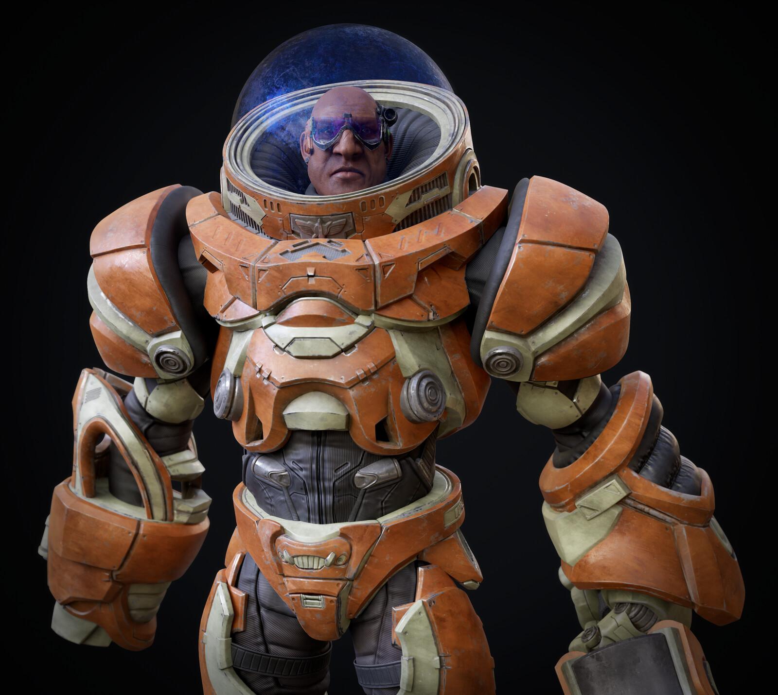 Space suit project