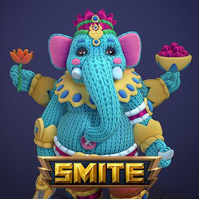 SMITE - Plushie Ganesha