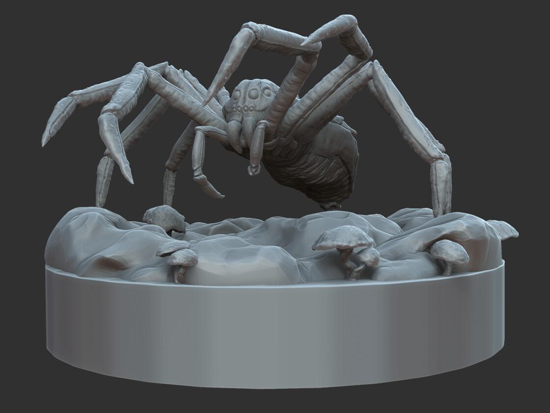 Giant Underdark Wolf Spider
