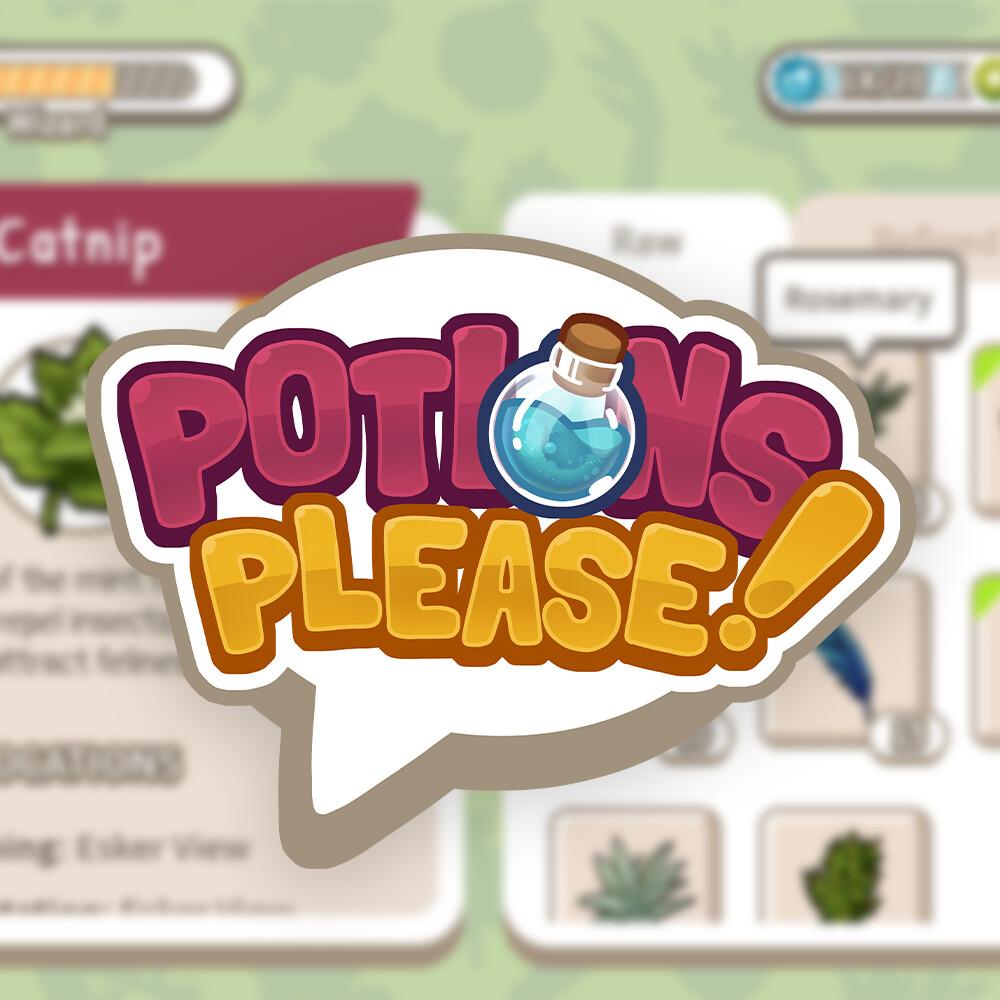Potions Please! UI Concepts
