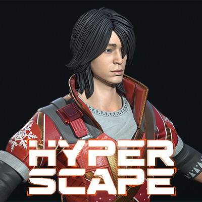 Hyper Scape: Takeshi Christmas