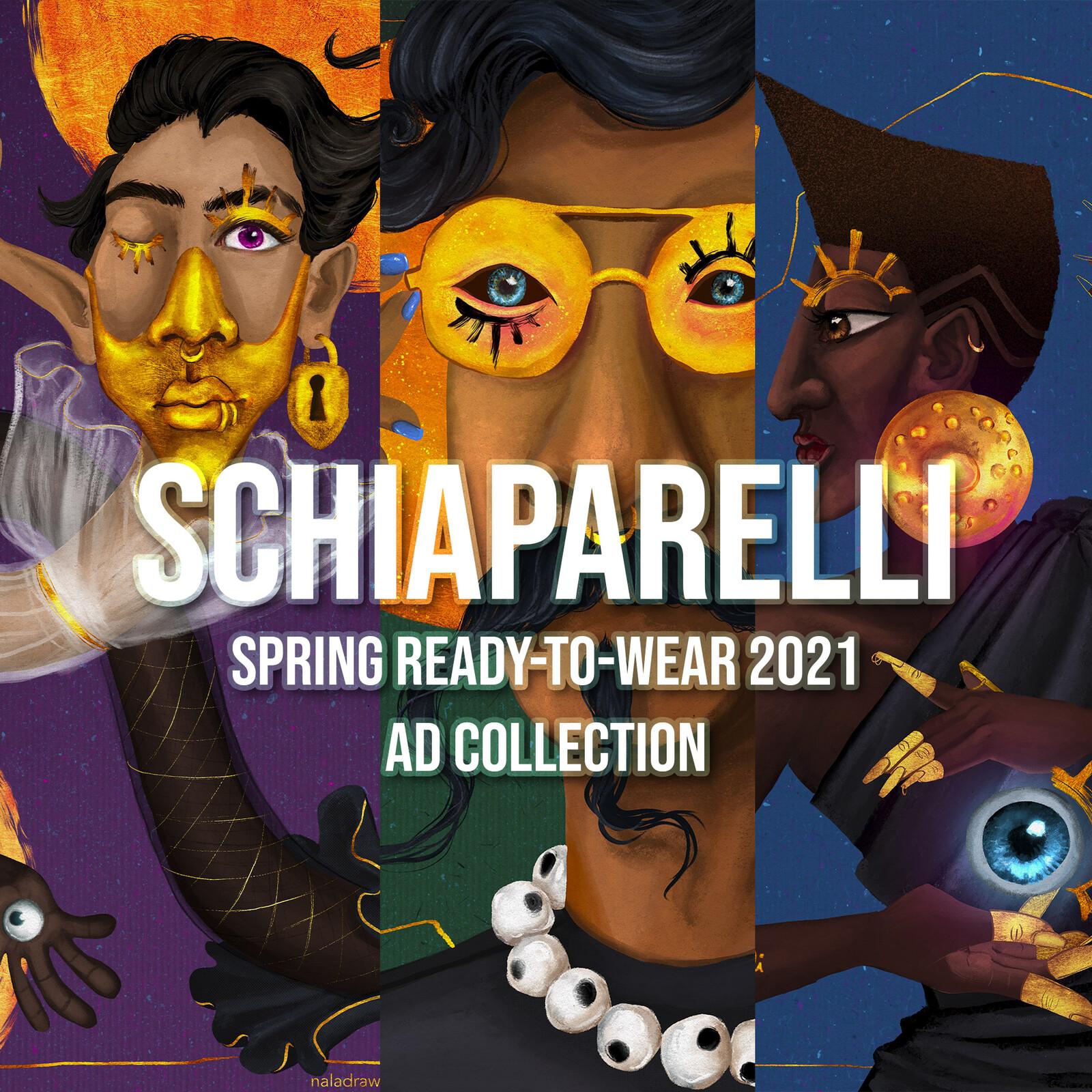 Advertising - Schiaparelli Spring Ready-to-Wear 2021