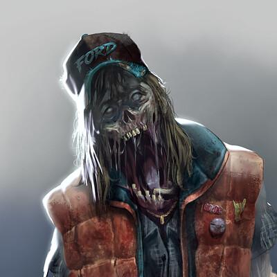 Tom ventre tom ventre sketch zombie7