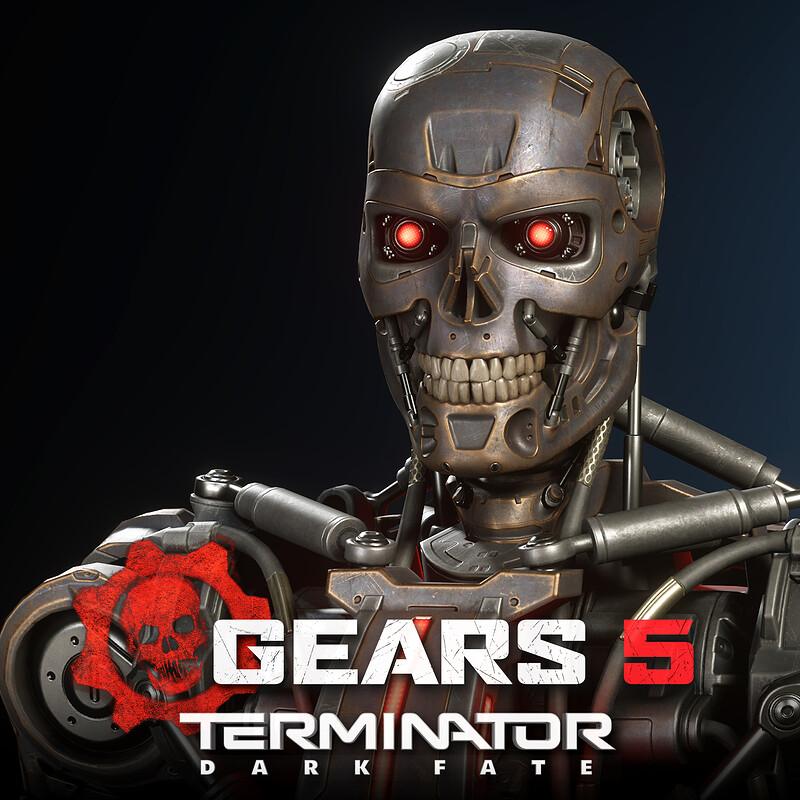 Terminator T800 - Gears 5 Multiplayer