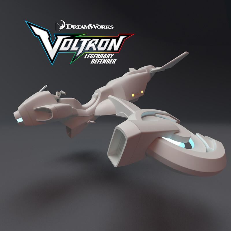 Voltron: Legendary Defender - Keith's Plane