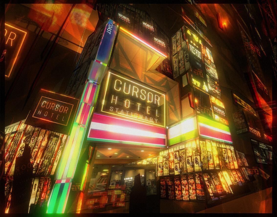 CURSOR Hotel's Entrance