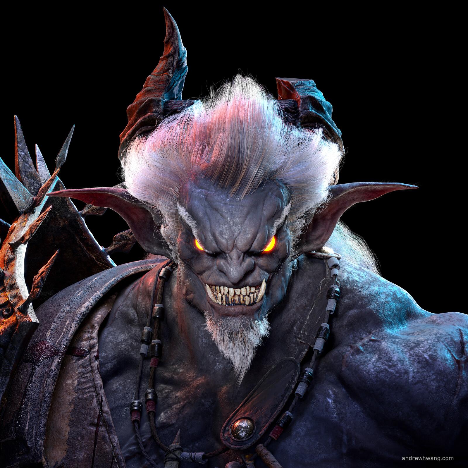 Zhong Fenghua Demon - Textured