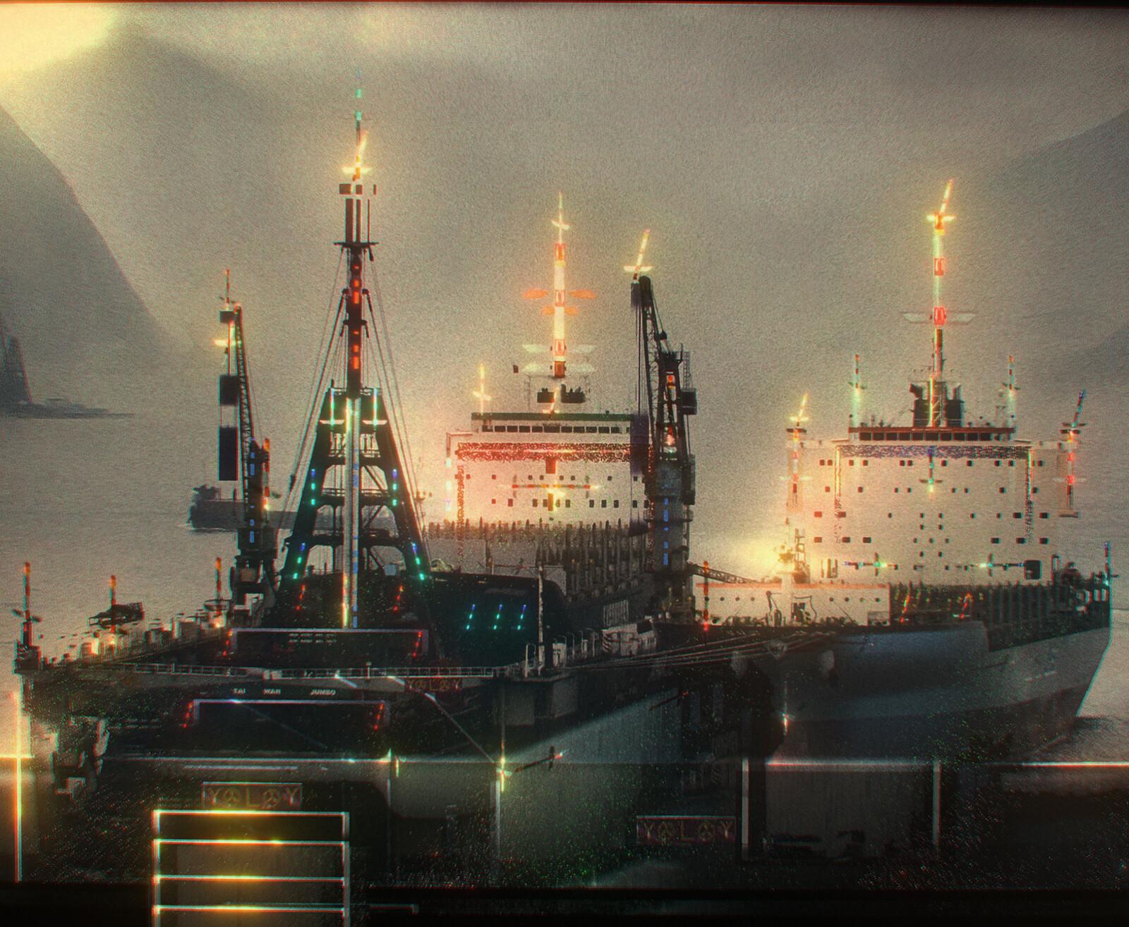 MORDOR SHIP (Drunken Whaler)