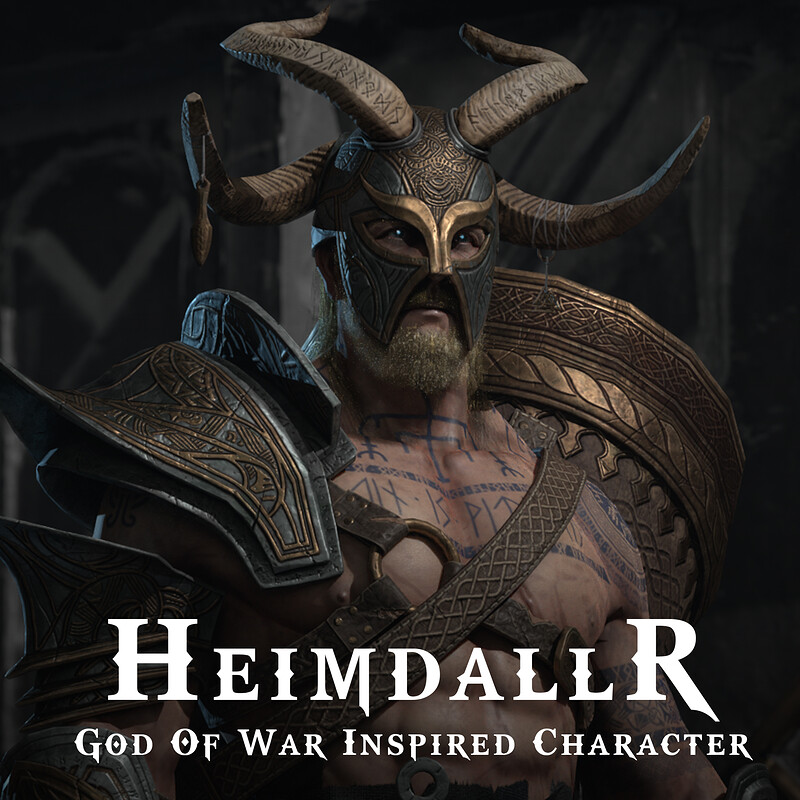 Heimdallr - Real Time Game Character