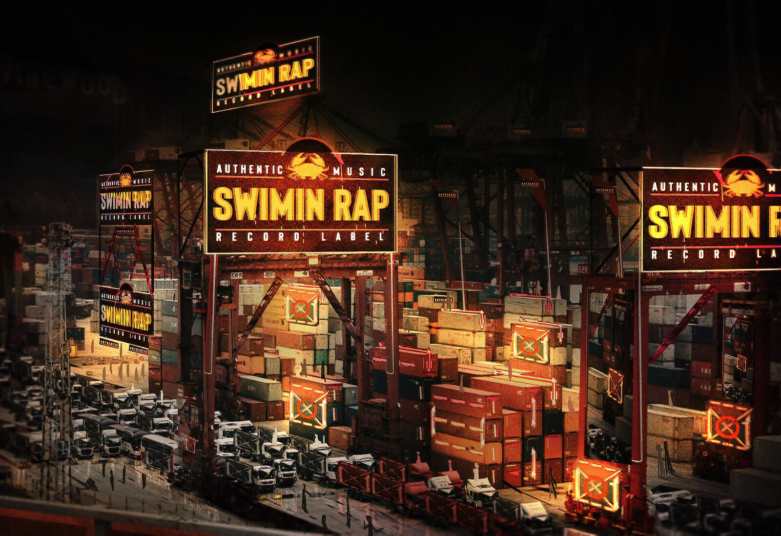 SWIMIN RAP {NightMask}