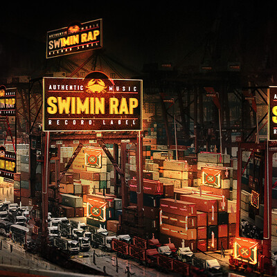 Long ken long ken nightmask swimin rap concert 6