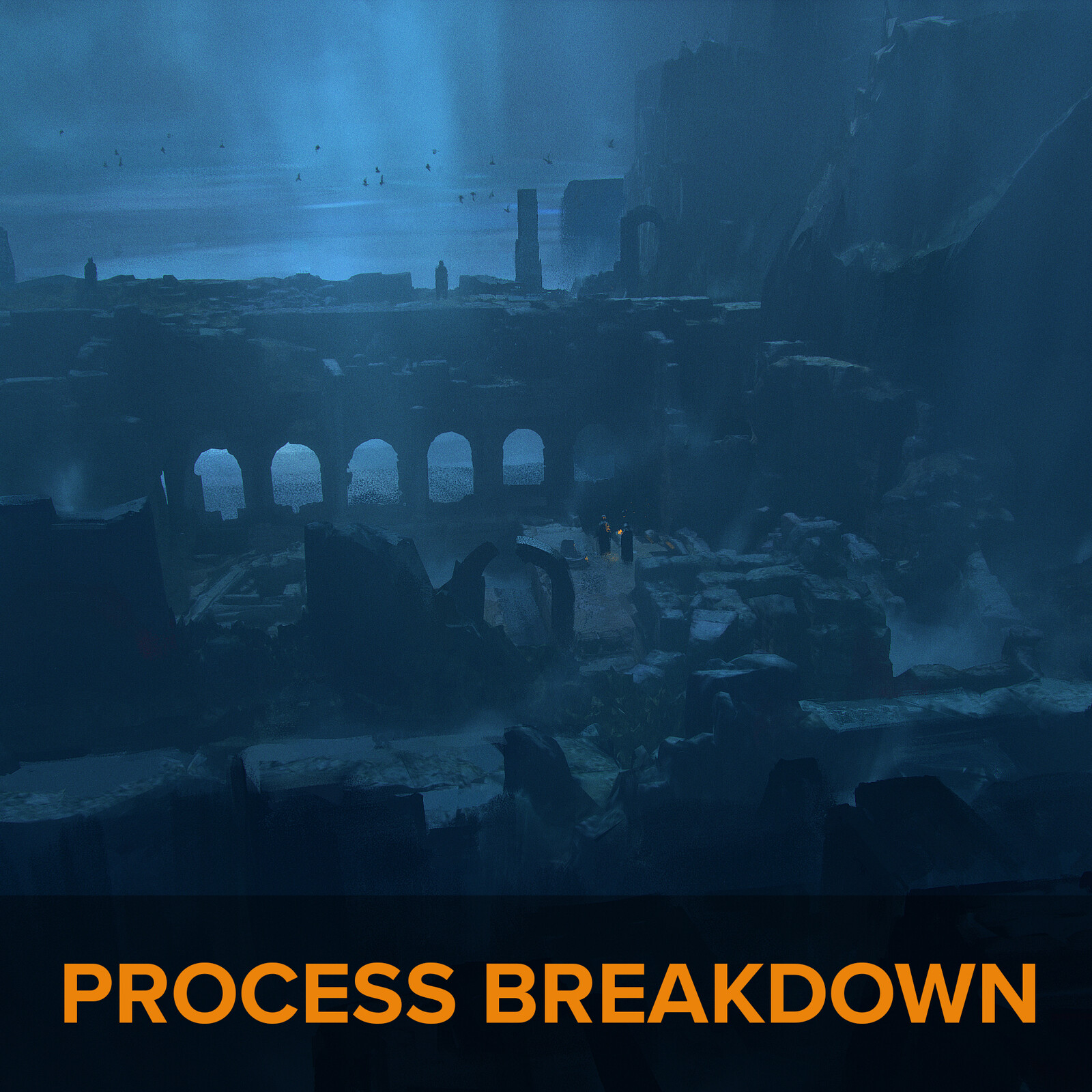 Daily sketches - Process Breakdown