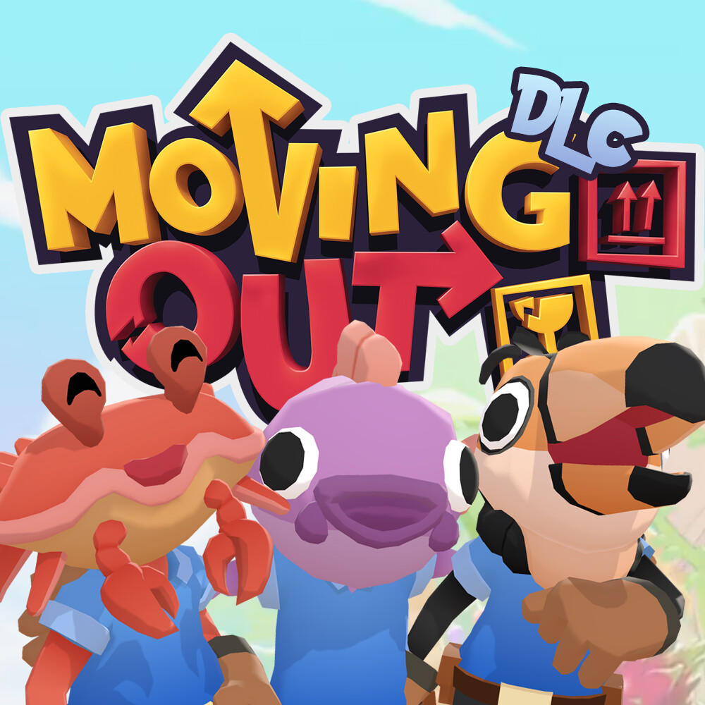 Moving Out - Movers in Paradise DLC Characters