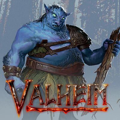 Garrett post garrett post valheim troll thumb