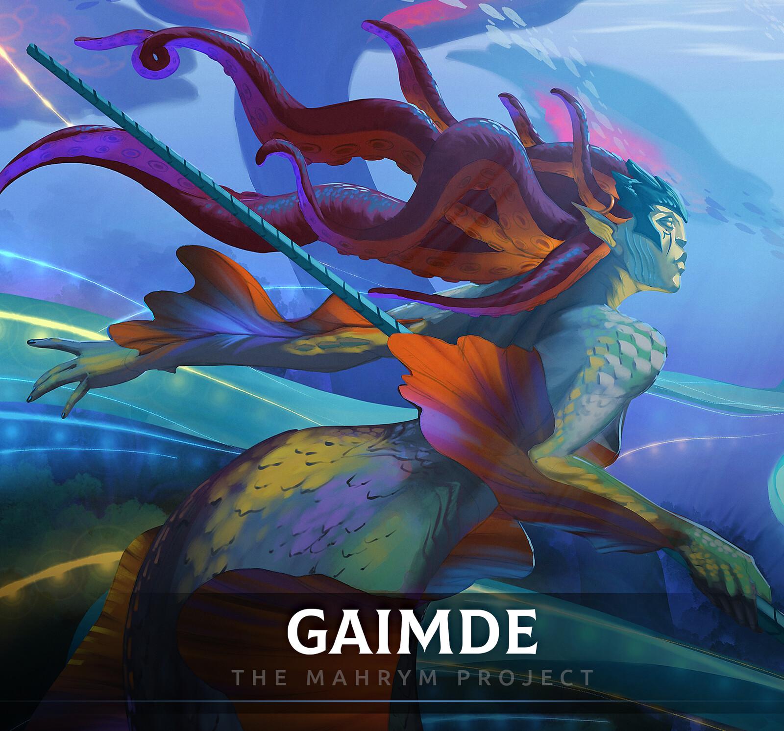 Gaimde - Animated splash art