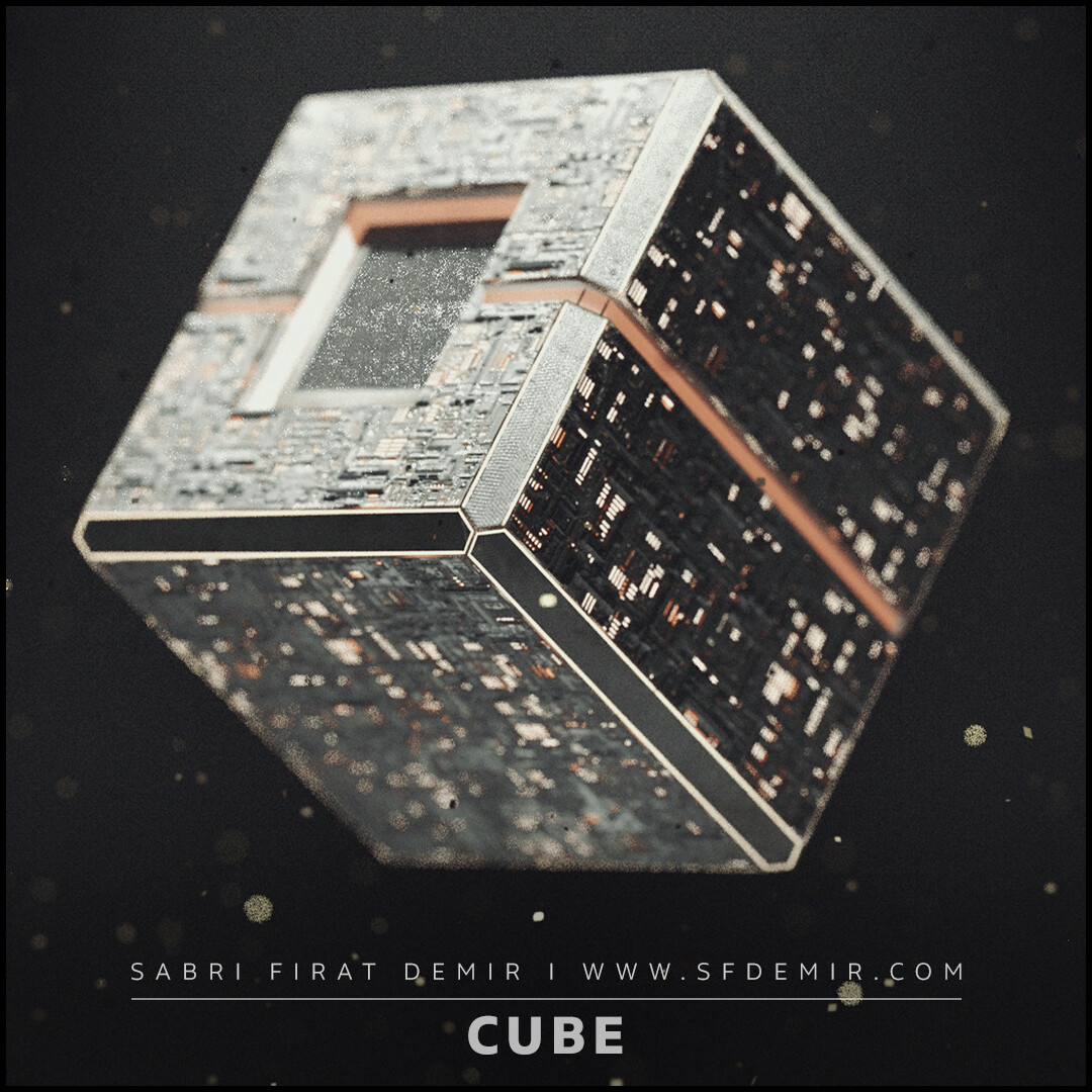 Cube - Low Polygon - PBR