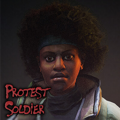 Protest Soldier - 6 week University project