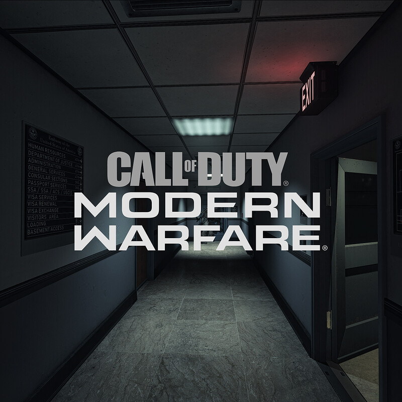 Call of Duty : Modern Warfare - SP - Embassy I