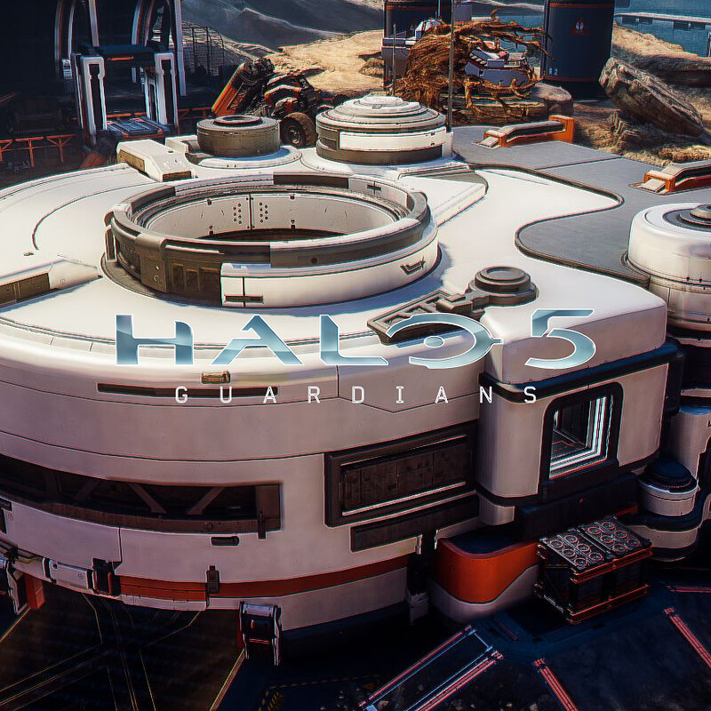 Halo 5: Guardians Warzone - Garage Exterior