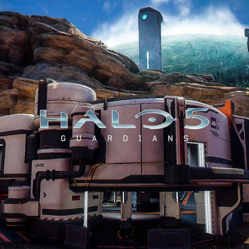 Halo 5: Guardians Warzone - Garage Exterior
