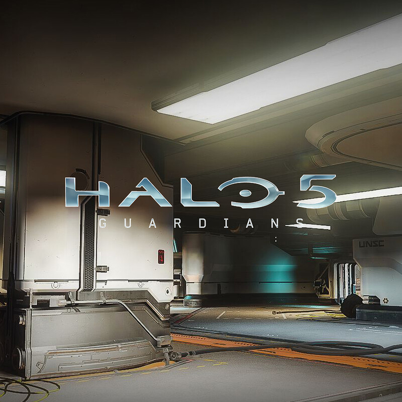 Halo 5: Guardians Warzone - Garage First Floor