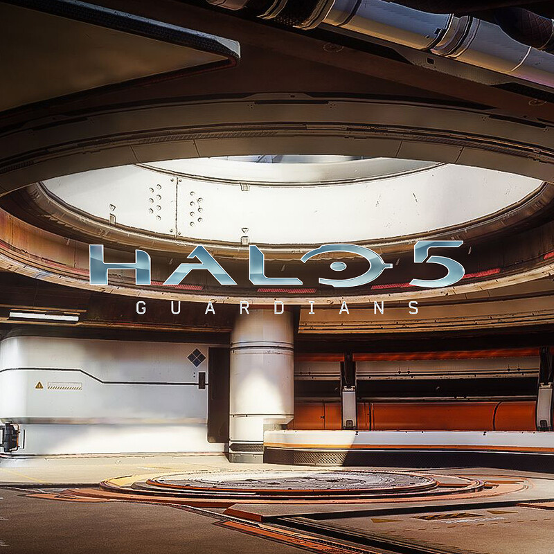 Halo 5: Guardians Warzone - Garage Second Floor