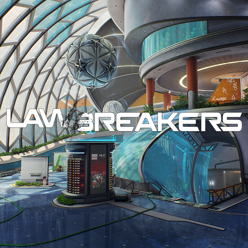 Lawbreakers Official: Station
