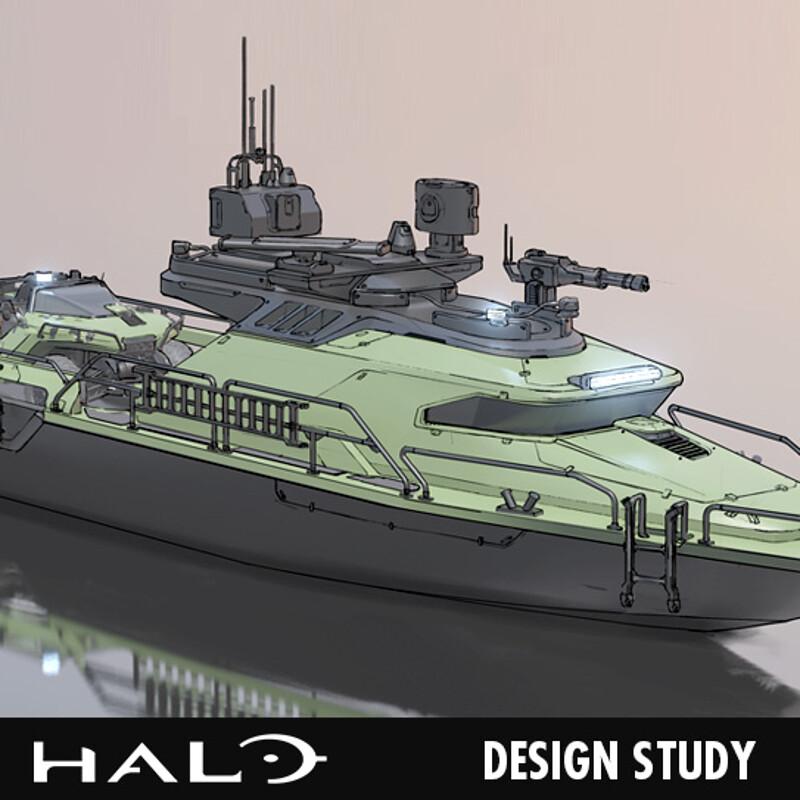 Halo - Design Study 02