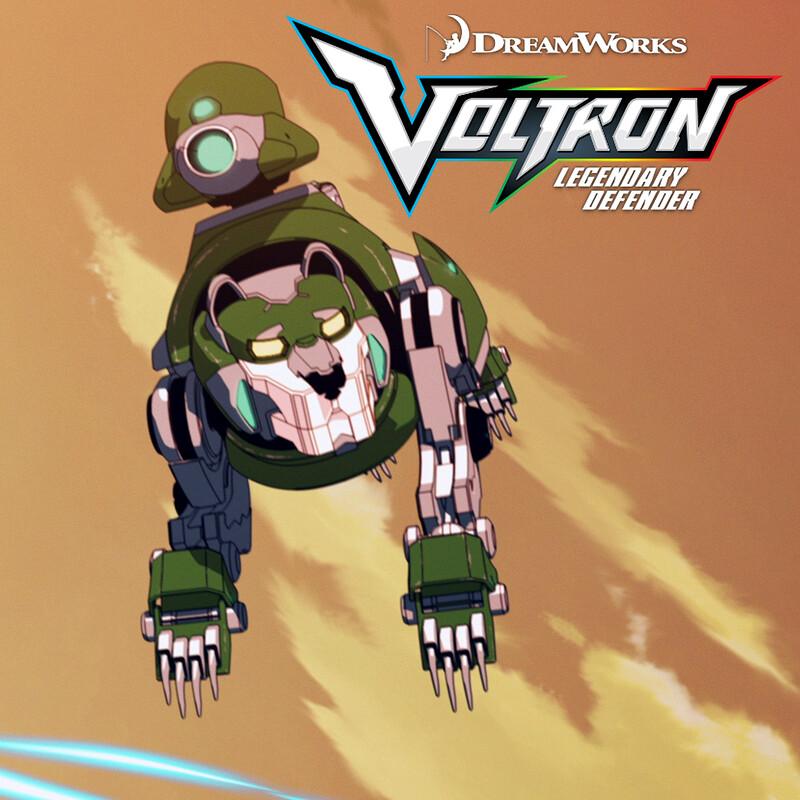 Voltron: Legendary Defender - Green Lion's Plant Canon
