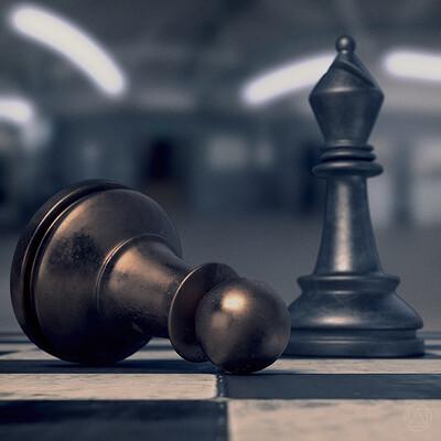 Chess: cinematic scene