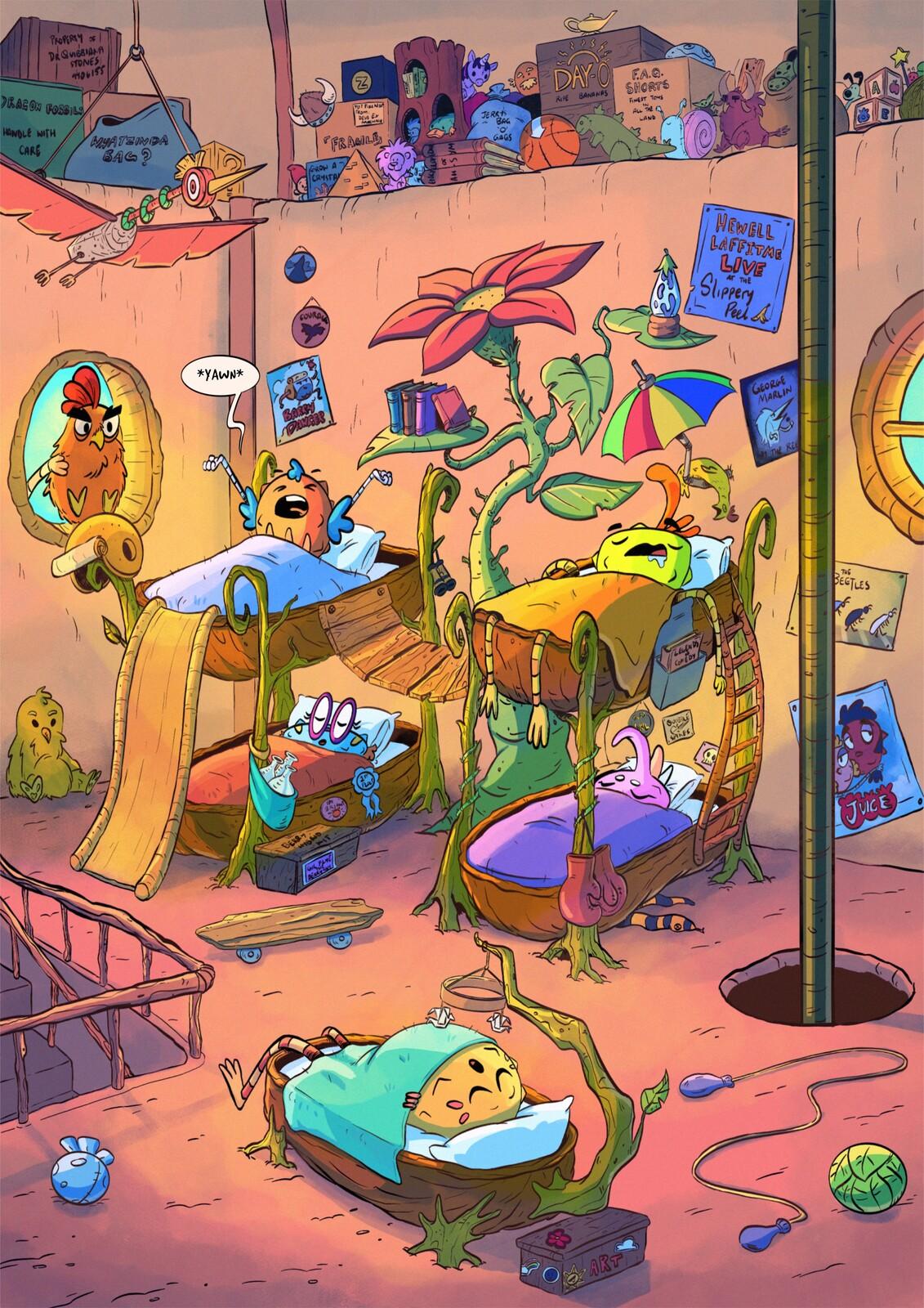 Unreleased Children's Graphic Novel