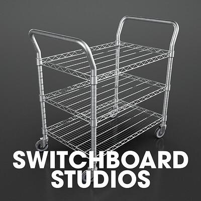 Wheeled Shelf | Switchboard Studios