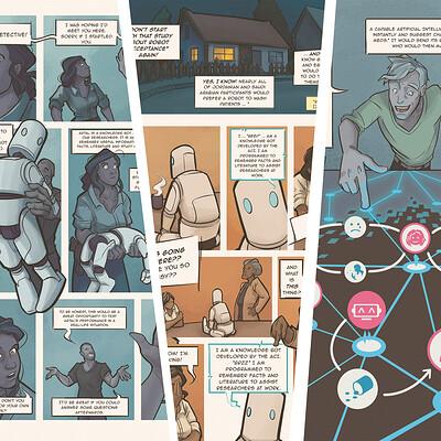 Social Robots - A Science Comic